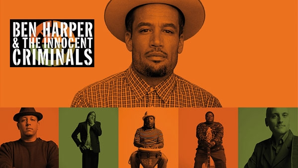 BEN HARPER E THE INNOCENT CRIMINALS IN ITALIA PER QUATTRO CONCERTI