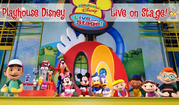 QUASI 50 DATE PER PLAYHOUSE DISNEY LIVE!