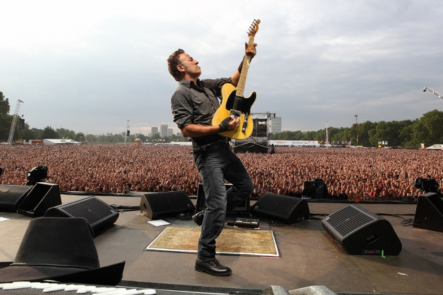 I CONCERTI ITALIANI DI BRUCE SPRINGSTEEN VERSO IL SOLD-OUT