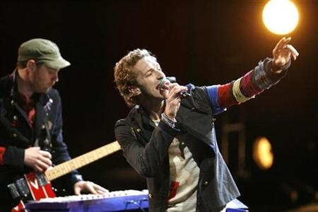 CLASSIFICA RADIO: ANCORA COLDPLAY AL TOP