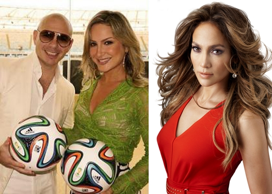 "JENNIFER LOPEZ, PITBULL E CLAUDIA LEITTE, ""WE ARE ONE"" INNO MONDIALI DI CALCIO 2014 IN BRASILE"