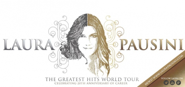 LAURA PAUSINI: A DICEMBRE AL VIA IL THE GREATEST HITS WORLD TOUR