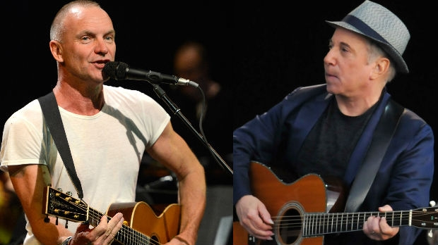 STING E PAUL SIMON LIVE IN ITALIA: