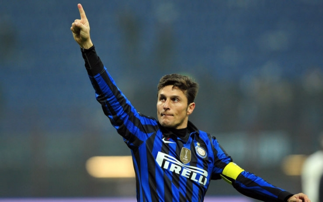 UDINESE - INTER: SI RIVEDE JAVIER ZANETTI.