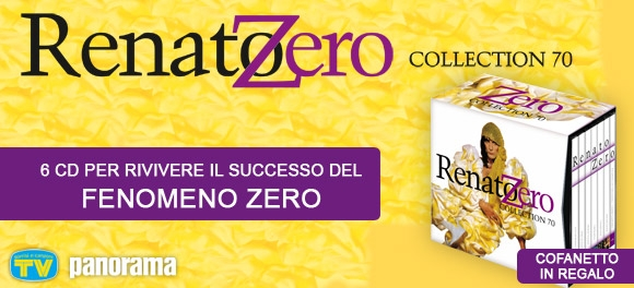RENATO ZERO COLLECTION 70